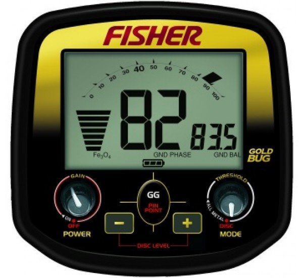 Fisher F2 Screen Display