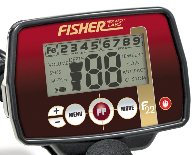 Fisher F22 Screen Image
