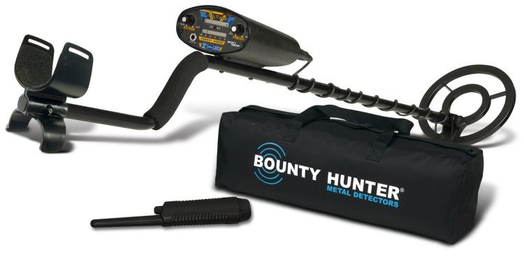 bounty hunter quicksilver metal detector manual
