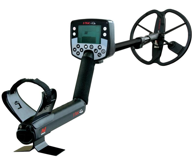 Minelab E-TRAC Metal Detector Image